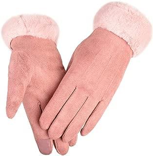 Best pink suede gloves Reviews