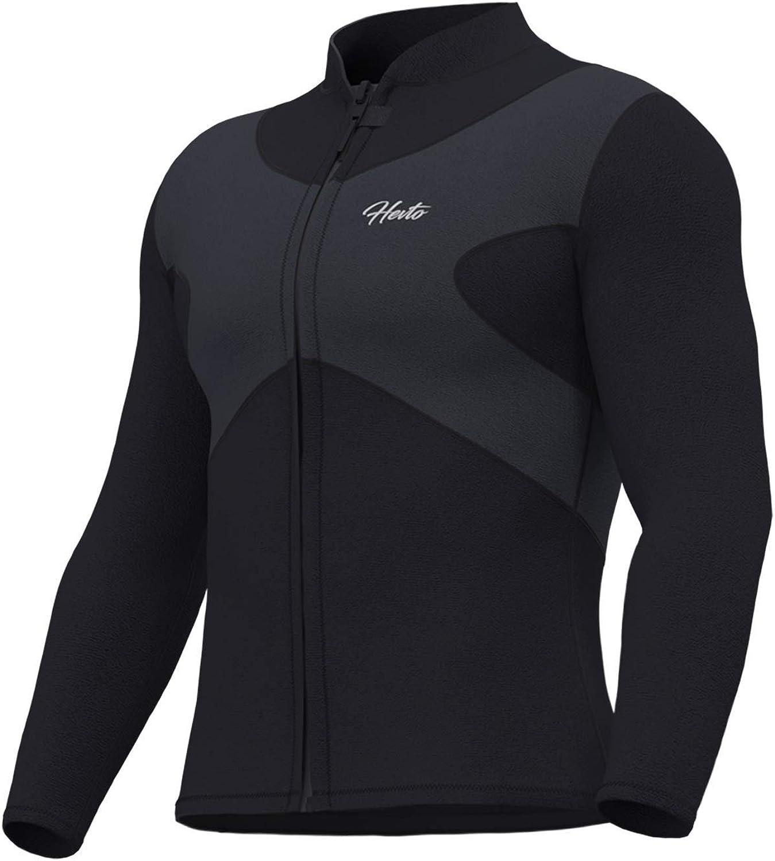 Hevto Wetsuits Tops X Men and Jacket Daily bargain sale supreme Women Neoprene Long 3mm Sle