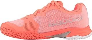 Junior Jet All Court Tennis Shoes, Fandango/Fluo Pink (Kids' Size