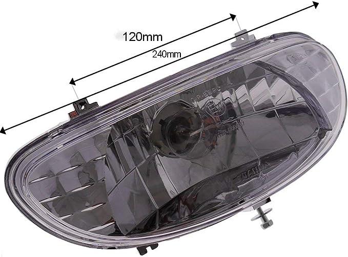 2extreme Scheinwerfer Kompatibel Für Baotian Bt49qt 9 Bt50qt 9 Auto