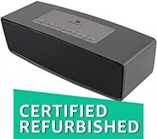 (Renewed) Zebronics Groove Bluetooth Speakers (Black)
