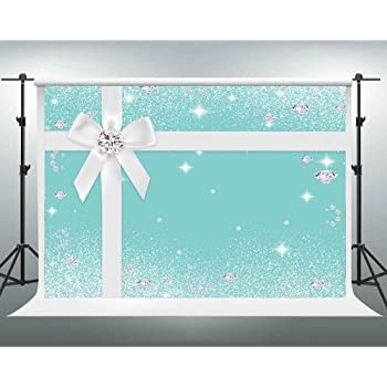 Cute Mask Backdrop 12x7ft Carnival Party Celebration Polyester Photography Background Blue Wooden Desk Golden Ribbon Bowknot Stars Girls Woman Baby Birthday Party Studio Photo Prop Decor Video