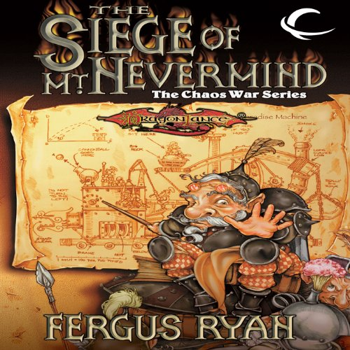 The Siege of Mt. Nevermind audiobook cover art