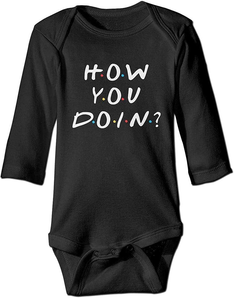 XieTao How You Doin Boutique Large special price !! Baby Onesie Long Unisex Sl Bodysuit Ranking TOP2