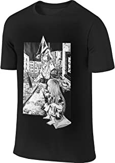 Black New Silent Hill Men's Short Sleeve T-Shirt