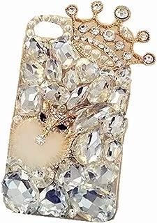 Alcatel IdealXCITE/Alcatel Raven LTE (A574BL)/Alcatel CameoX/Alcatel Verso / U50 Full Diamond Case, 3D Handmade Luxury Sparkle Crystal Rhinestone Diamond Glitter Bling Clear TPU Case (A00006)