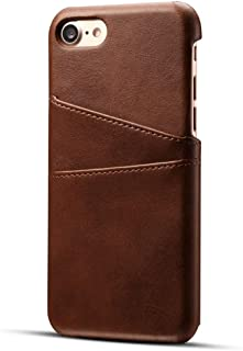 For Apple iPhone 7,8 Case Luxury Brand Leather With Card Cases
