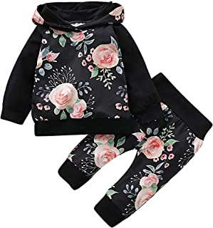 Duduai Newborn Hoodie Baby Girl Outfits Long Sleeve...