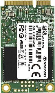 Transcend MSA230S 128GB, disco sólido interno, mSATA III