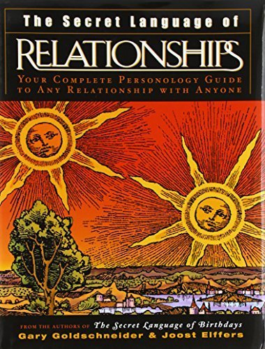 The Secret Language of Relationships by Goldschneider, Gary, Elffers, Joost (2003) Hardcover