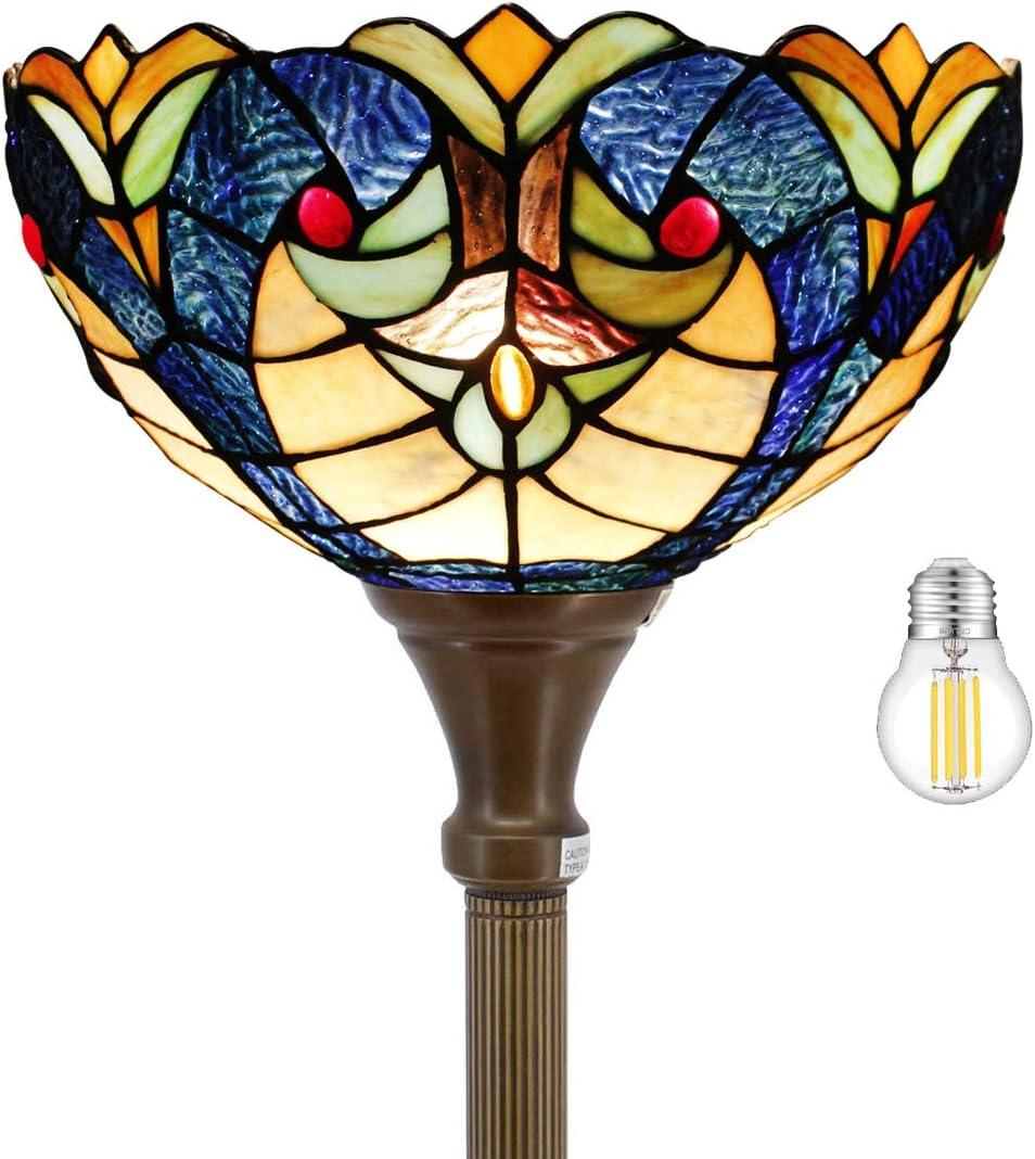 Tiffany Floor Torchiere Lamp 66