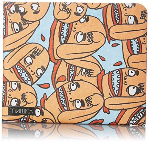 Paperwallet Tyvek Unisex Portemonnaie - Twerps! - von MISHKA, Art by Twerps, NY - Vegan & 100% Recyclebar