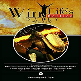 Win Life's Battles Daily audiobook cover art