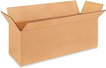 """IDL Packaging Long Corrugated Shipping Boxes 18""""L x 6""""W x 6""""H (Pack of 10) - Excellent Choice of Strong Packing Boxes for ..."""