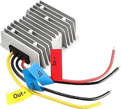 uxcell Power Converter Regulator DC 12V/24V 9V 35V Step-Down to DC 5V 20A 100W Waterproof Voltage Convert Transformer