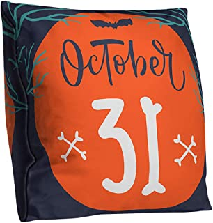 XIMOMO Pillow Covers Halloween Pillowcase Polyester Double-Sided Cushion Cover Lumbar Pillow Home Decoration