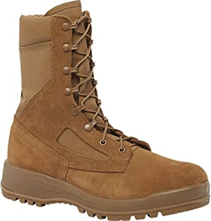 coyote brown flight boots
