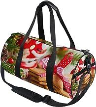DEZIRO Merry Christmas Present Sport Duffle Bag Drum Sporttas