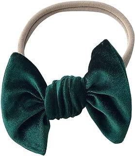dark green baby headband