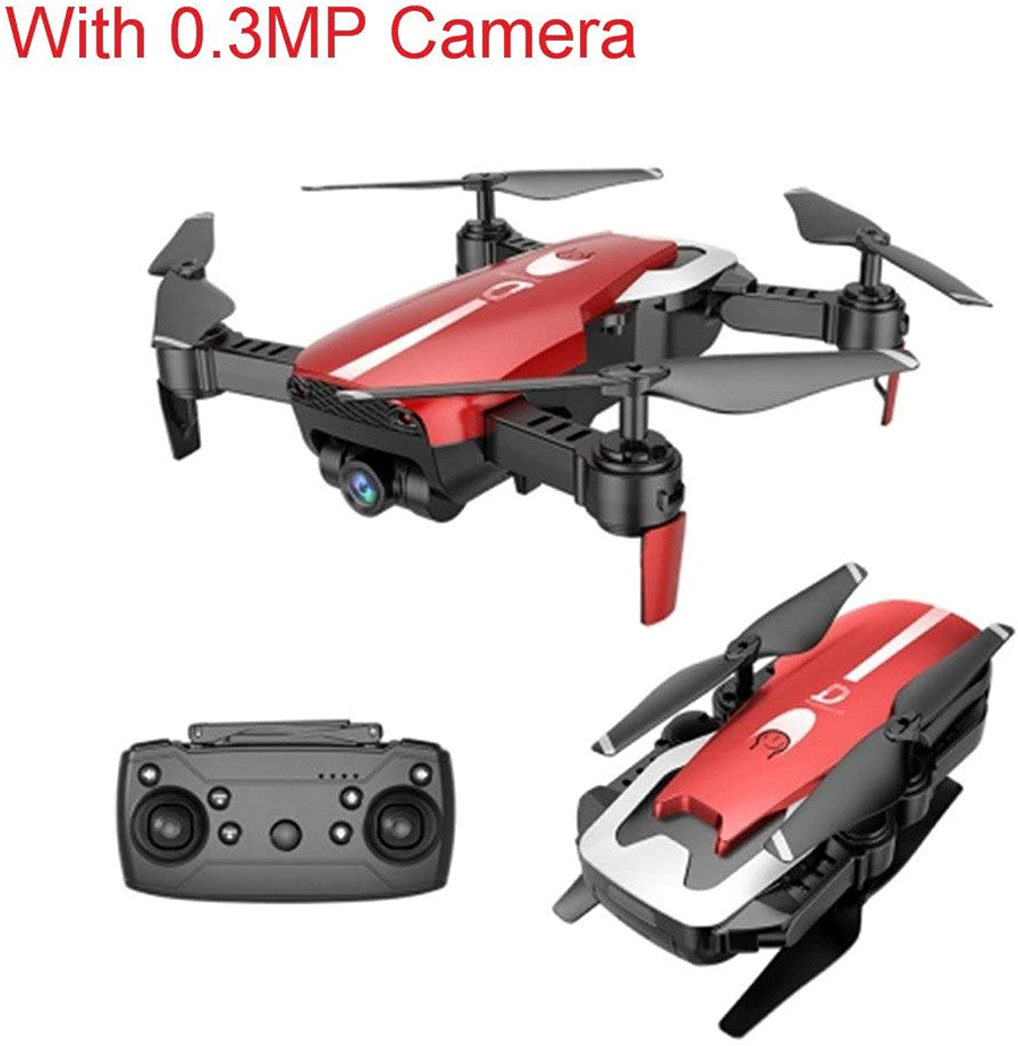 Generic Newest X12 RC Helicopters Wide Angle HD WiFi Camera FPV Mini Drones Helicopter Hight Hold Quadcopter RC Dron Toys Red MP Camera