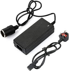 12V 60W Power Supply Adapter Car Cigarette Lighter Adapter Socket Splitter 110V-240V Car Power Charger Converter