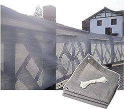 PENGFEI zonnezeil, buiteninstallaties schaduwnet voor Pergola Patio Canopy Sunblock, rechthoek 1X3m grijs