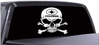 8'' Polaris Skull Head Vinyl Sticker/Decal Buy 2 Get 3rd Free