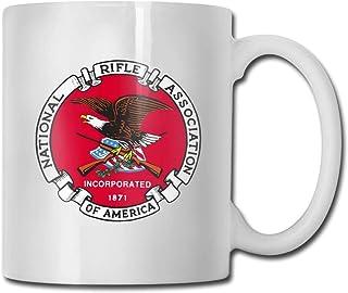 National Rifle Association Tasse à café en céramique Ideas Mug Meilleure famille et cadeau d'anniversaire Cup 11 OZ