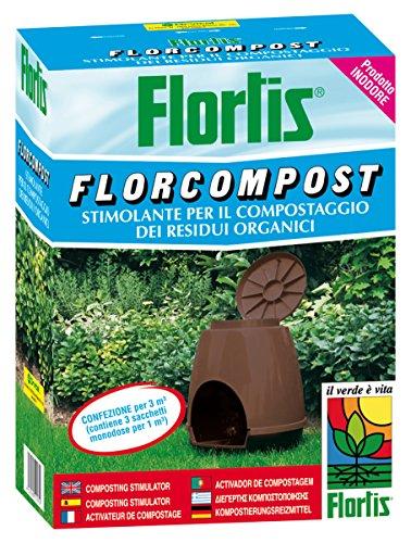 Flortis florcompost stimulante compostage de déchets organiques 1500 g