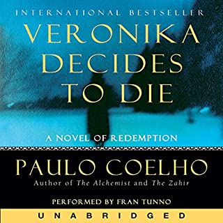 Veronika Decides to Die audiobook cover art