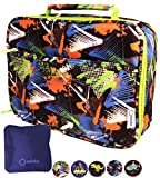 Lunch Box for Boys with Ice Pack, Insulated Bag for Elementary School Kindergarten Kids, Baby...