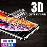 PANGLDT [3 Piezas] Cubierta Completa 3D Suave para meizu Pro 6 Plus Pro 7 Plus Protector de Pantalla del teléfono con película de hidrogel para meizu x8 Protector no Vidrio-for meizu Pro 6 Plus