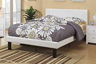 Best white faux leather double bed Reviews