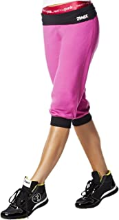 Zumba Fitness Groove for the Cure Logo Stamp Capri Pants