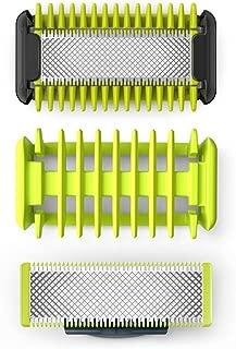 Philips QP620 50 OneBlade Kit Lames Visage Corps Lames Systeme Protection des Zones Sensibles Sabot Corps