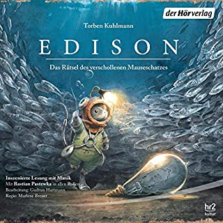Edison     Das Rätsel des verschollenen Mauseschatzes              By:                                                                                                                                 Torben Kuhlmann                               Narrated by:                                                                                                                                 Bastian Pastewka                      Length: 50 mins     Not rated yet     Overall 0.0