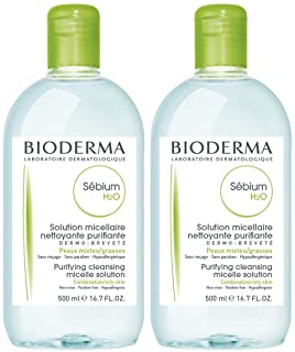 Bioderma - Sébium H2O - Micellar Water - Cleansing and Make-Up Removing