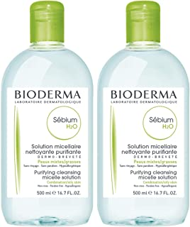 Bioderma Sébium H2O Purifying Micellar Cleansing Water and Makeup Removing Solution for Combination to Oily Skin