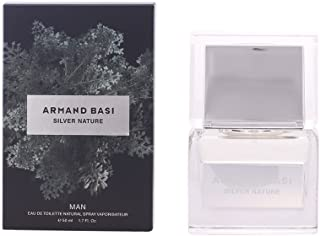 Armand Basi Silver Nature for Men -Eau de Toilette, 50 ml-