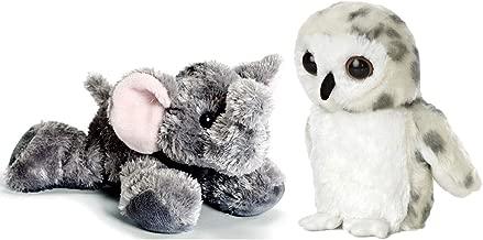 Aurora Flopsie Mini Bundle, Snowy Owl and Ellie The Elephant -Set of Two - 8