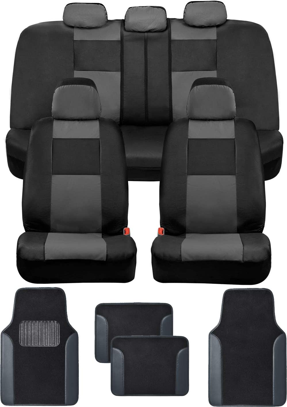BDK Mesa Mall Croc Skin OFFicial shop Faux Leather Car with Carpet Seat Full Set Covers