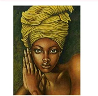 Adult Puzzle Classic Jigsaw Puzzle 1000 Pieces Wooden Puzzle DIY African Beauty Modern Home Decor Unique Gift Intellectual Game 75x50cm