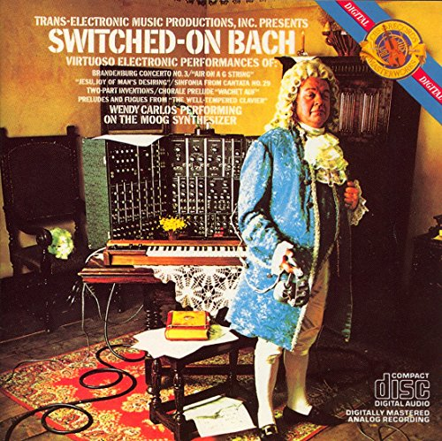 Switched-On Bach [Audio CD] Wendy Carlos and Benjamin Folkman