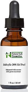Natural Lab Cosmetics, DrPeel, Salicylic Acid 20% Gel Peel - Enhanced with Tea Tree Oil & Green Tea Extract , 1 Fl. oz. (p...