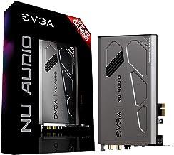 کارت صوتی EVGA Nu ، 712-P1-AN01-KR ، صوتی Lifelike ، PCIe ، RGB LED ، طراحی شده با نوت صوتی (UK)