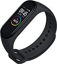 SHOPTOSHOP M4 Intelligence Bluetooth Wrist Smart Band Watch/Health Bracelet/Smart Watch/Activity Tracker/Bracelet Watch/Smart Fitness Band/with Heart Rate Sensor Compatible All Androids iOS Phone/Tablet