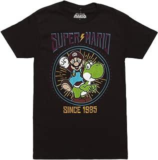 Nintendo Lightning Super Mario Adult T-Shirt