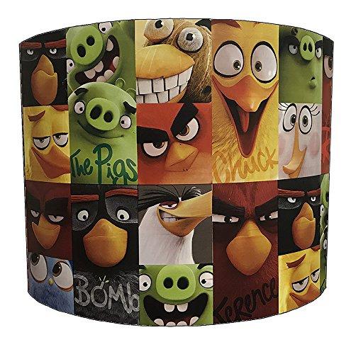 DELPH DESIGN LIGHTING LTD 20,3 cm Angry Birds pour Enfant Abat-Jour pour Une lumière Ceiiling, 20,3 cm