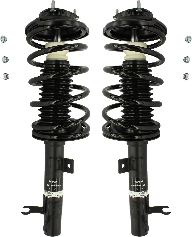 全国どこでも送料無料 Pair Set Of 2 Front 格安 KYB Coil Sp Strut-Plus Suspension and Struts