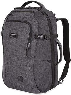 SWISSGEAR 6067 Getaway 2.0 Big Expandable Men's and Women's Ultra Spacious Laptop Backpack - Heather